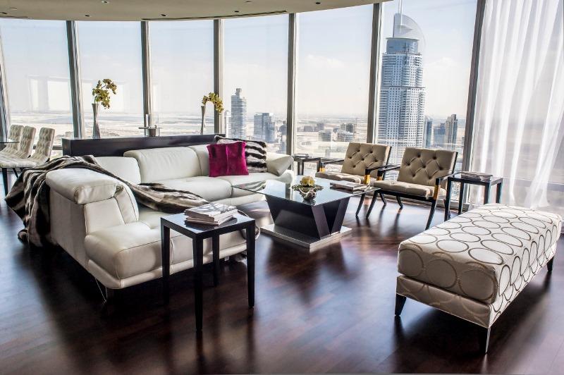 Жилые квартиры в Бурдж-Халифа