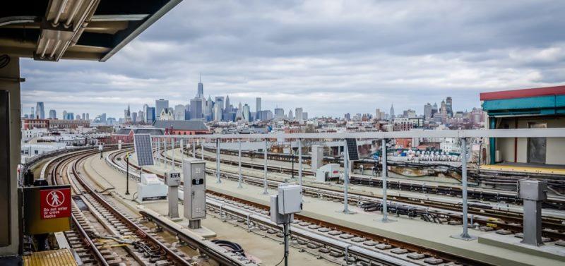 Станция Смит-Стрит, самая высокая в нью-йоркском метро