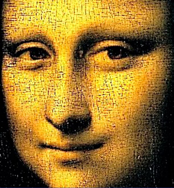 Трещины Мона Лизы