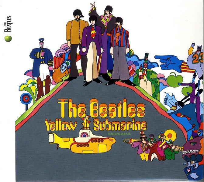 Обложка альбома Yellow Submarine