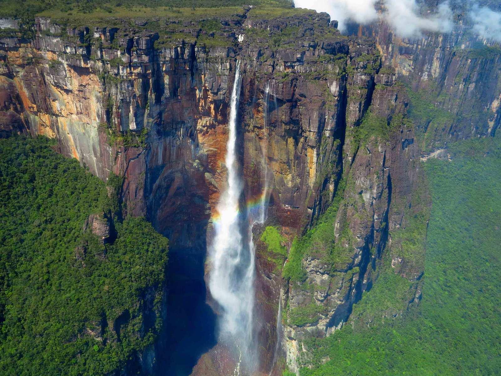 Какой самый высокий на свете водопад