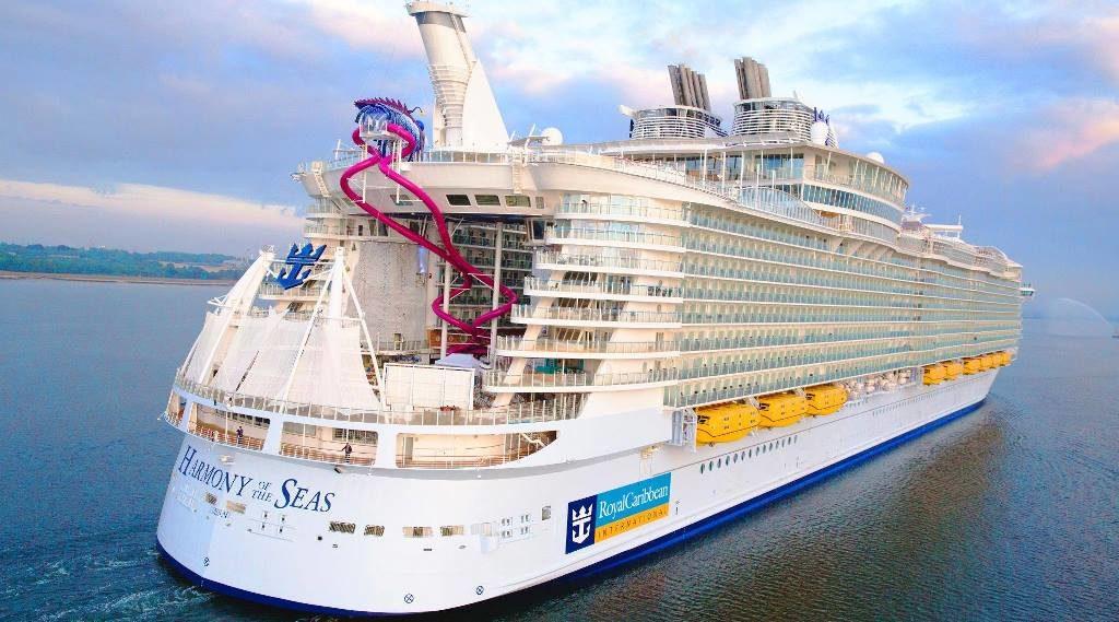 Самое большое круизное судно в мире Harmony of the Seas