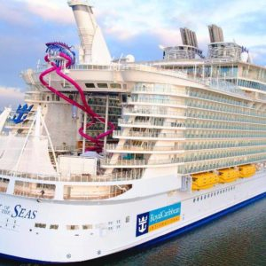 Гармония морей — самое большое круизное судно в мире