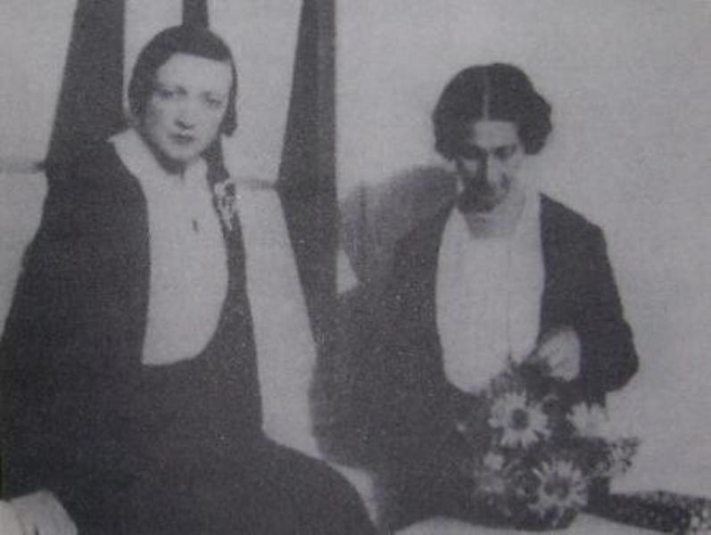 Жанна и Ивонн Кальман