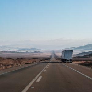 Шоссе в пустыне