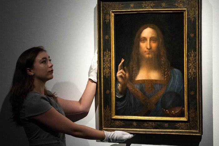 Спаситель мира в музее