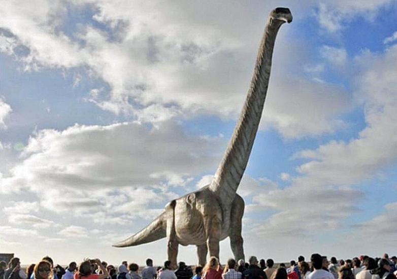 Самый большой на свете динозавр — патаготитан майорум