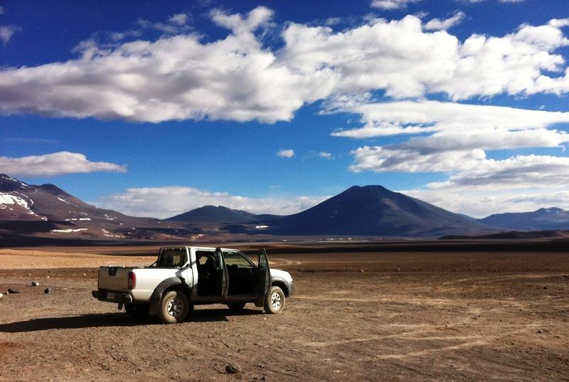 Вид на Вид на Охос-дель-Саладо.