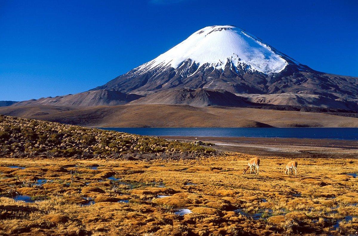 Самый большой вулкан на Земле - Охос-дель-Саладо
