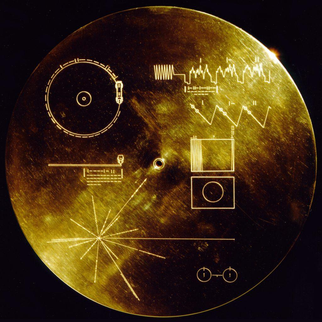 Золотая пластинка на Voyager
