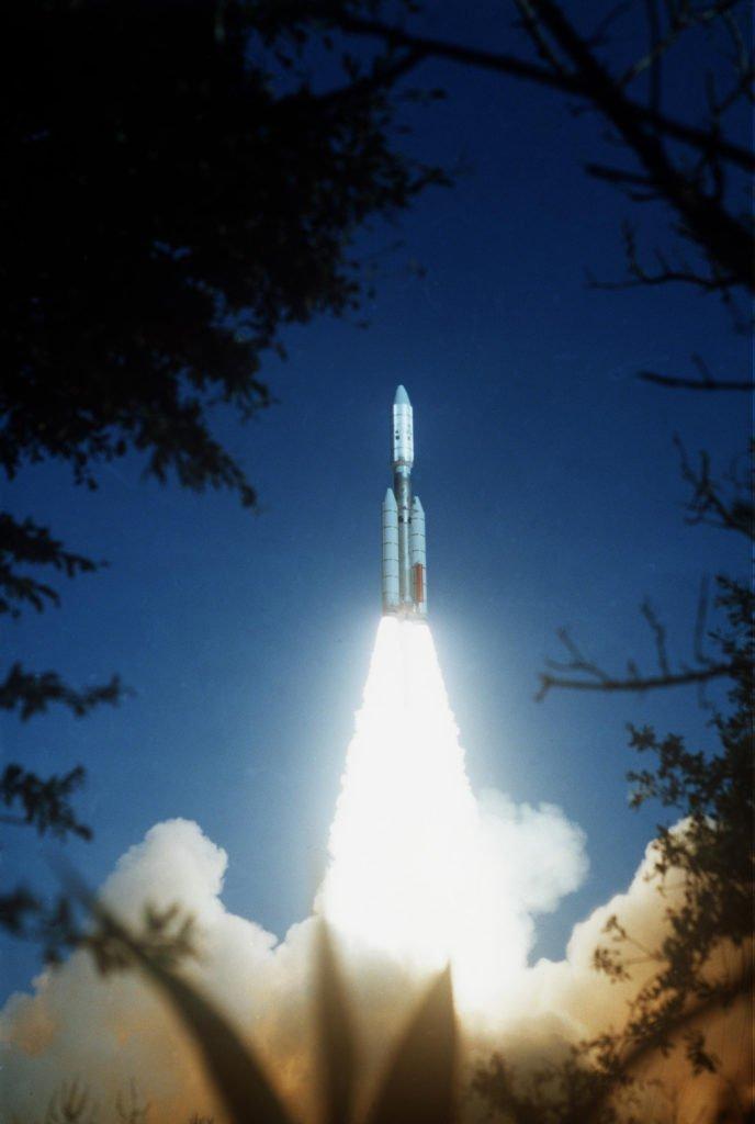 Ракета-носитель Titan IIIE.